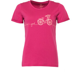 Triple2 Laag Bike T-Shirt Damer rød